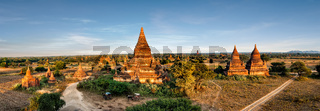 Buddhist Temples at Bagan Kingdom, Myanmar