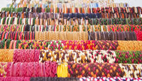 Rows Of Colorful Bracelets