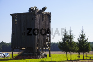 Reste einer Bockwindmuehle bei Niendorf