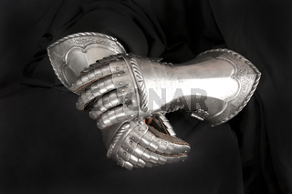 Knight's metal glove