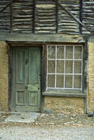 A Weathered Aged Stone House