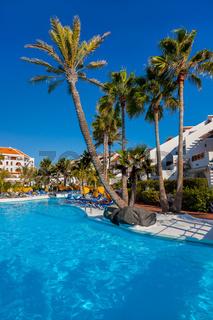 Water pool at Tenerife island
