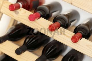 verschiedene Weinflaschen