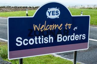 Schottland Grenze
