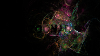 colorful fractal 3D image