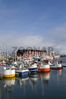 Fischerhafen von Andenes