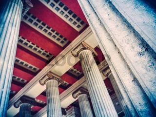 Ancient Roman Column Pillars