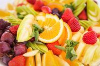 Fresh fruit party plate