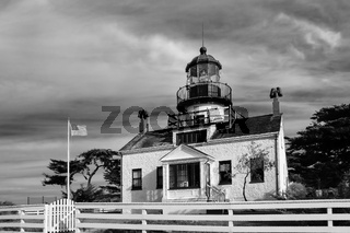 Point Pinos Lighthouse of Monterey Bay
