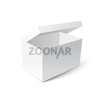 White gift carton box