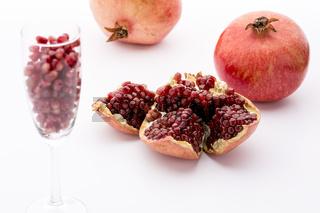 Kerne der Paradiesfrucht, Punica granatum