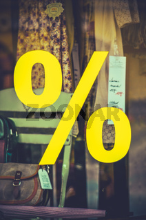 Vintage Clothes Stoe Sale Sign