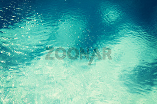 water in pool, sea or ocean