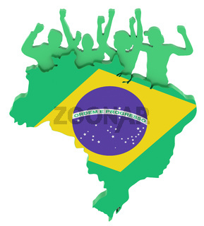 brazil supporters