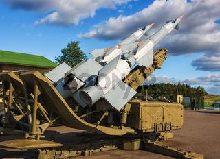 Sowjetisches Boden-Luftraketensystem.