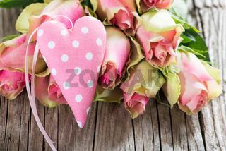 Rosen mit Herz