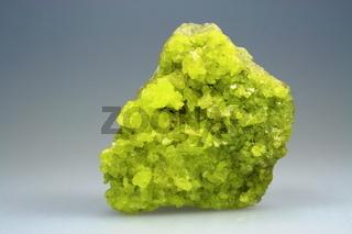 Schwefel Kristalle aus Polen