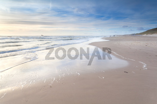 sand beach on North sea