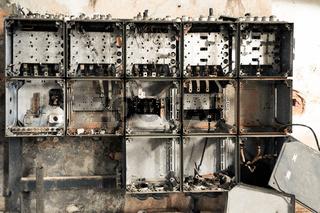 Stromkasten der Zeit
