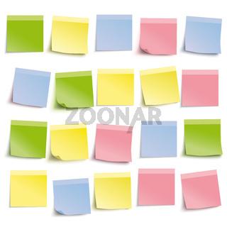 White Board Colored Sticks