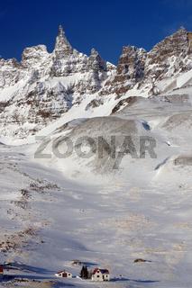 Winterliches Tal westlich von Akureyri