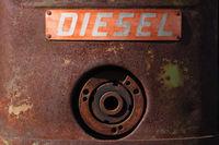 Diesel - Traktoraufschrift