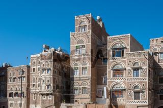 Streets of Sanaa, Yemen