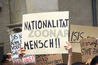 Anti-ISIS-Demo in Münster