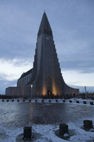 Hallgrímskirkja, Reykjavik, Island