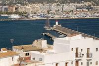 Stadtansicht Eivissa, Ibizza