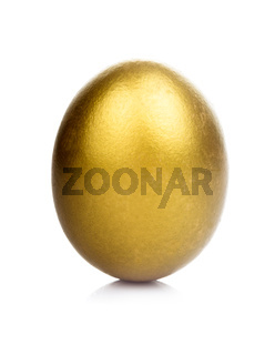 golden egg isolated