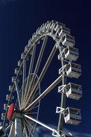 Riesenrad auf dem Rummel
