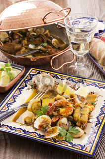 cataplana with seafood