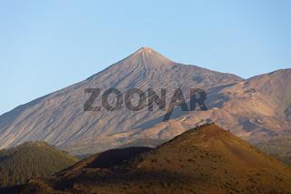 Blick auf den Teide Vulkan, Teneriffa