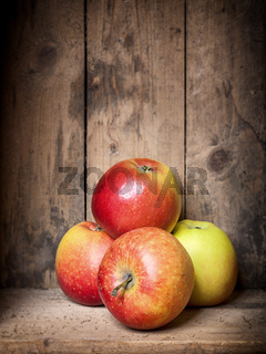 some apples