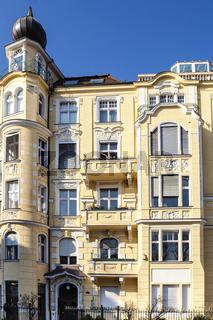 stilvolle Hausfassade