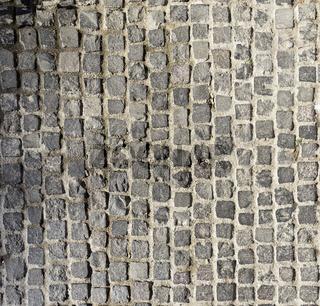 Kopfsteinpflaster aus Granit