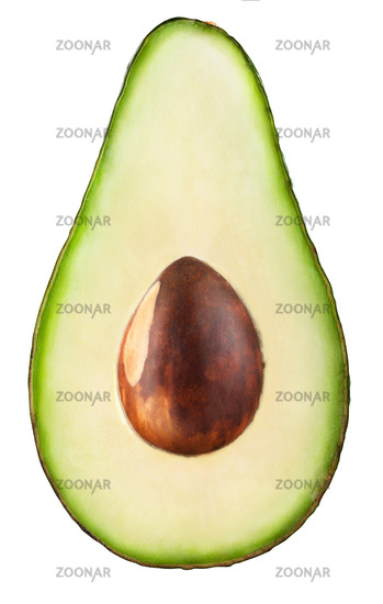 Avocado slice