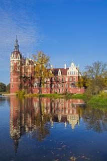 Neues Schloss, Fuerst-Pueckler-Park, Bad Muskau