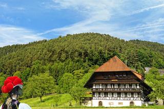 Gutachtal, Schwarzwaldmädel, Bauernhaus
