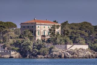 Villa Tonietti in Cavo, Elba, Toskana, Italien