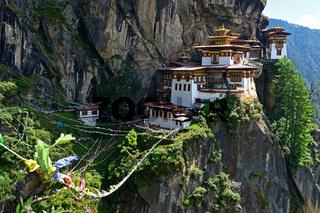 Tigernest-Kloster, Paro, Bhutan