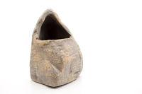 Steinblumen vase