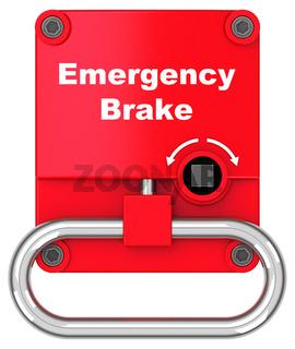 The emergency brake