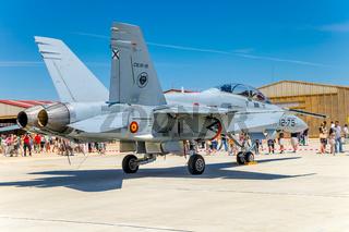 Aircraft McDonnell Douglas F/A-18 Hornet