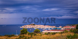 Town Primosten in Croatia -