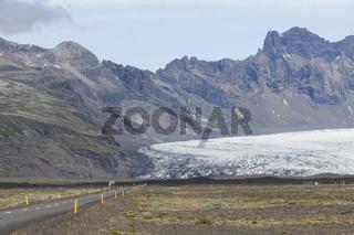 Gletscher, Skaftafell Nationalpark, Island
