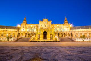 espana Plaza in Sevilla Spain