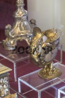 kultisches gefäss, museum, kathedrale, faro