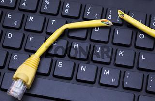 Tastatur LAN-Kabel